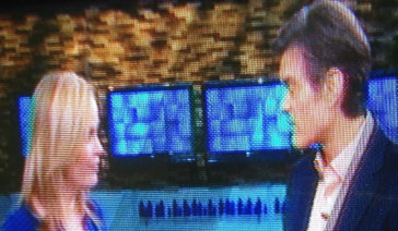 Broadcaster-Columnist-Elisabeth Leamy-With Dr. Oz