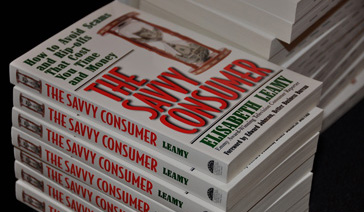 Author-Elisabeth Leamy-Critically acclaimed book The Savvy Consumer