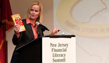 Broadcaster-Columnist-Elisabeth Leamy-Speaks to New Jersey Financial Literacy Summit