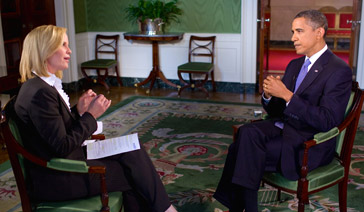 Spokesperson-Brand Ambassador-Subject Matter Expert-Elisabeth Leamy-Interviewed President Barack Obama Exclusively