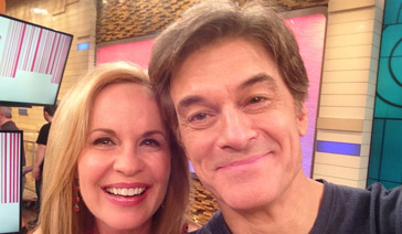 Spokesperson-Brand Ambassador-Subject Matter Expert-Elisabeth Leamy-Appears on the popular Dr. Oz Show