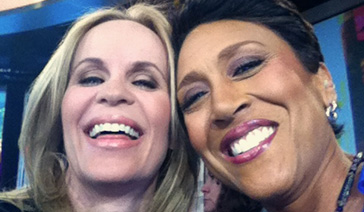 Spokesperson-Brand Ambassador-Subject Matter Expert-Elisabeth Leamy-With Robin Roberts of Good Morning America