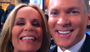 Spokesperson-Brand Ambassador-Subject Matter Expert-Elisabeth Leamy-with Sam Champion of the Weather Channel