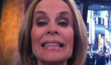 Spokesperson-Brand Ambassador-Subject Matter Expert-Elisabeth Leamy-Selfie on the set at GMA